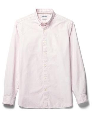 LS Eastham River Stretch Poplin Solid Shirt Fitted