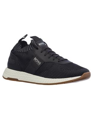 Мужские кроссовки Titanium Running Inspired Sneakers in Knit