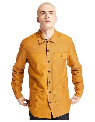 Мужская рубашка LS Mascoma River Mix Media Re-Botl Chore Overshirt